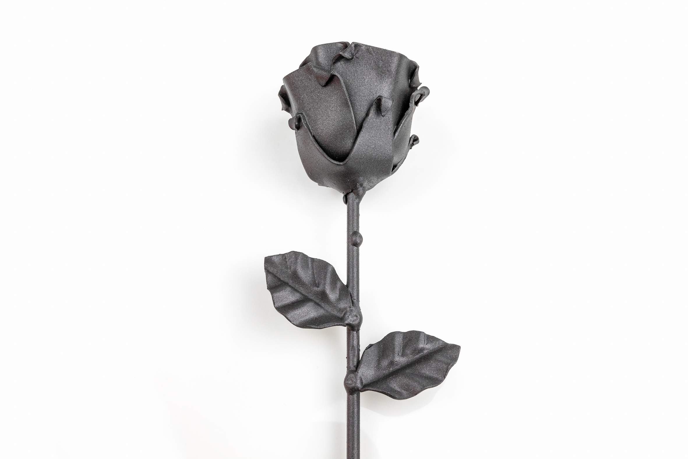 -Eternal-Rose-Hand-Forged-Wrought-Iron-BlackIdeal-gift-for-Valentines-Day-Mothers-Day-Couple-Birthday-Christmas-Wedding-Day-Anniversary-Decor-IndoorOutdoor