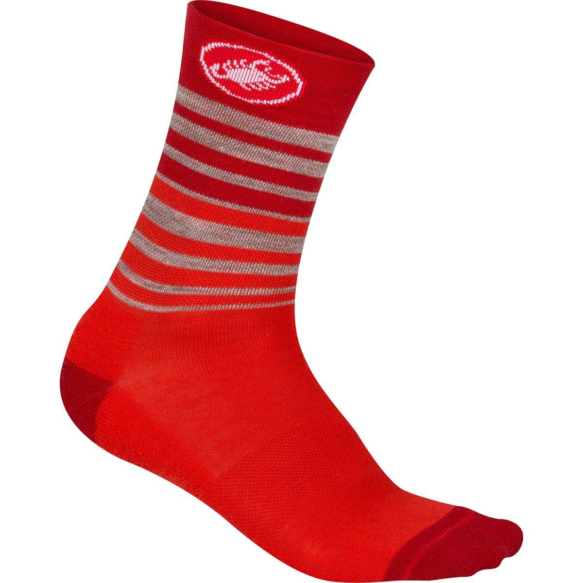 Castelli 2015 / 16 Women 's Righina 13 Cycling Sock – r15576 B01KYLI1PK Medium レッド レッド Medium