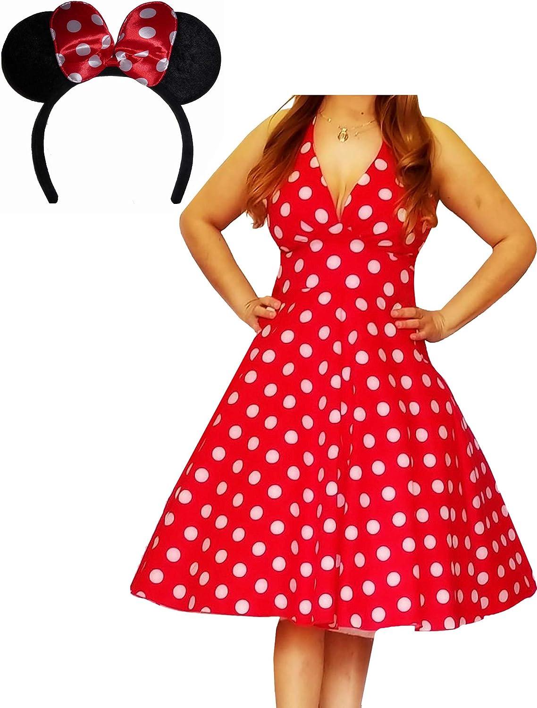 Amazon.com: Funfash Plus Size Halloween Costume Red White ...