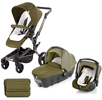 Jane Rider Transporter & Koos carrito de bebé, cochecito, cochecito y asiento de coche