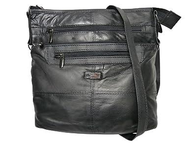 Ladies Handbag - Women s Plain Black Single Strapped Bags - Premium Soft  Sheep s Leather Hand Bag 18c7bfa8ff65e