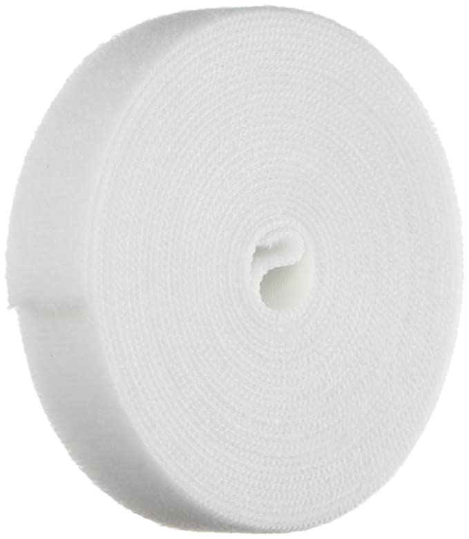 2812cafcfa923 Monoprice Hook & Loop Fastening Tape 5 Yard/roll, 0.75-inch - White (105829)