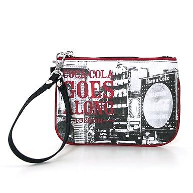 Amazon.com: Producto oficial de Coca-Cola Nylon Wristlet ...