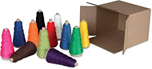 Creativity Street Double Weight Assorted Cones, 12 Assorted Colors, 2 oz., 12 Cones