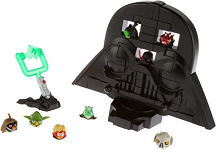 Amazon Com Angry Birds Star Wars Jenga Rise Of Darth Vader Game Toys Games
