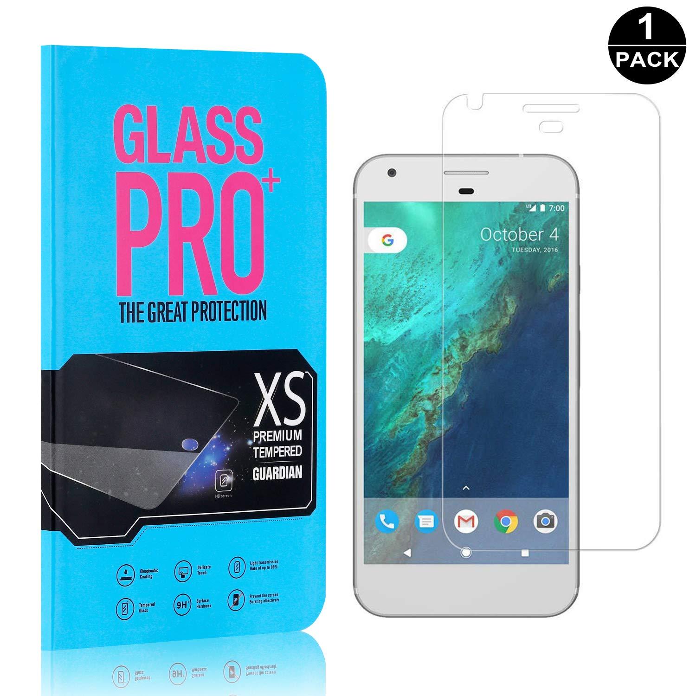 UNEXTATI Screen Protector for Google Pixel 3 Pack Google Pixel HD Clear Tempered Glass Film Anti Scratch