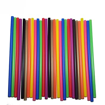 50 St/ück Lollipop Sticks 11,5 cm x 4mm Farbige Cake Pops blau