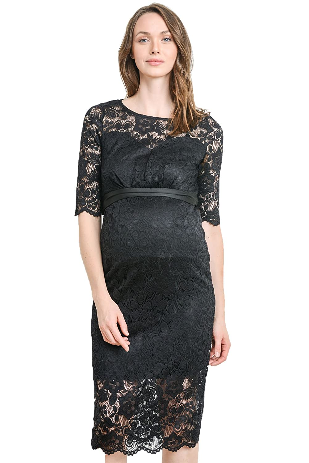 Hello miz womens baby shower floral lace maternity dress at hello miz womens baby shower floral lace maternity dress at amazon womens clothing store ombrellifo Images