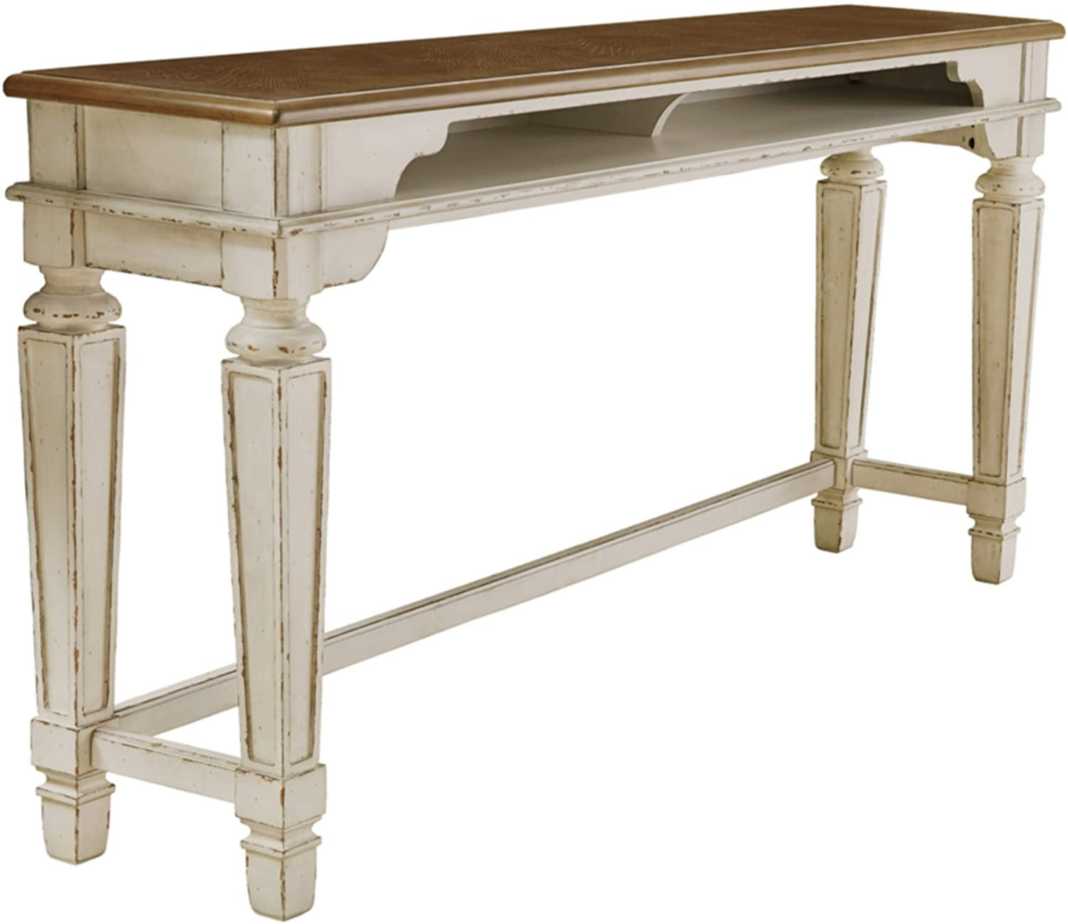 Signature Design by Ashley D743-52 Realyn Dining Table, White
