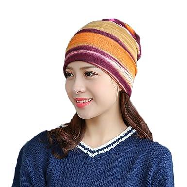 Chapeau d hiver pour femmes, Youson Girl® Colorful Skull Cap Skull Chapeau d 2e8b13ec6a2