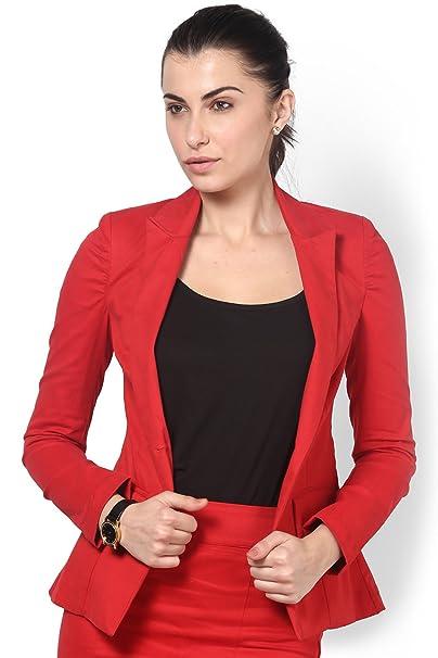 Kaaryah - Traje de vestir - para mujer Rojo rosso 32  Amazon.es  Ropa y  accesorios 3ad9ef760ed