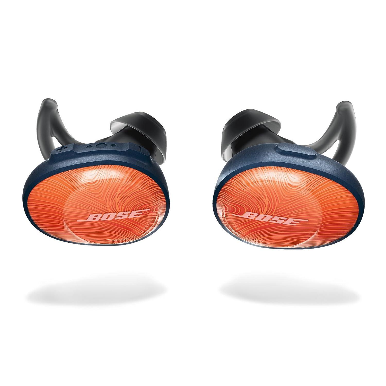 Bose SoundSport Free - Auriculares intraurales inalámbricos, Naranja (Bright Orange/Azul Marino): Amazon.es: Electrónica