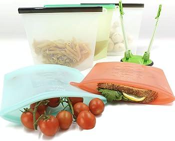 Pepe Nero Silicone Reusable Sandwich Bags