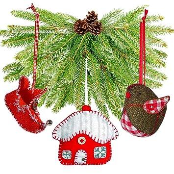3 x Christmas Schnittmuster Unabhängige Design. Elfenstiefel, Robin ...