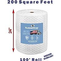 America's Best - 24 Inch Wide - Bubble Wrap! (200 Square Feet (Medium Bubble))