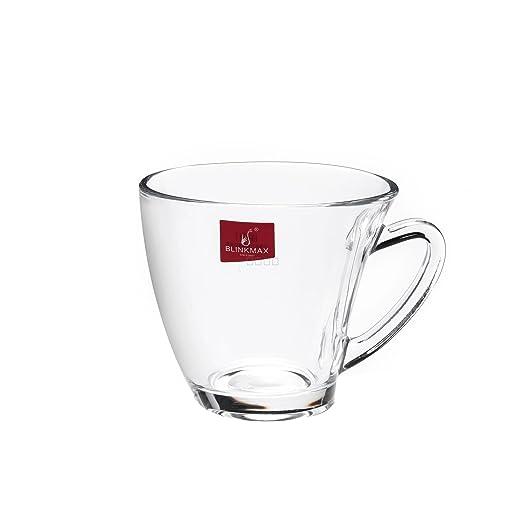 BlinkMax Demitasse Espresso Glass Juego de 6 tazas para bebidas ...