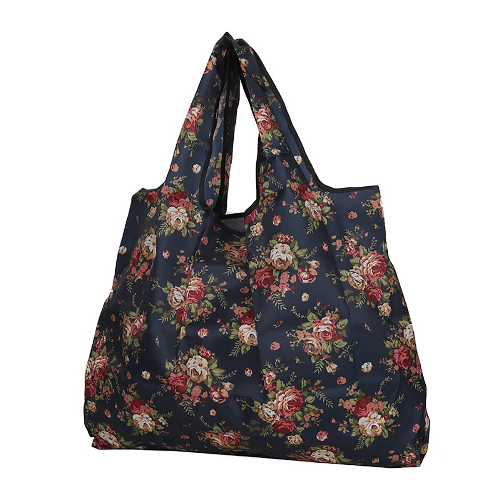 Women Handbag,Starlit Flower Cat Ethnic Nylon Bucket Bag Shoulder Bag Totes