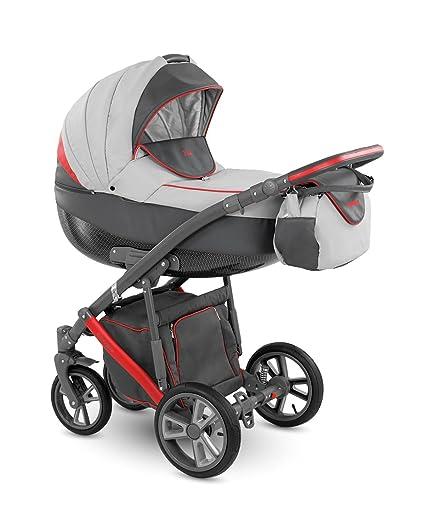 Cochecito para bebés de la marca Lux4Kids. 3 en 1, para su uso todo ...