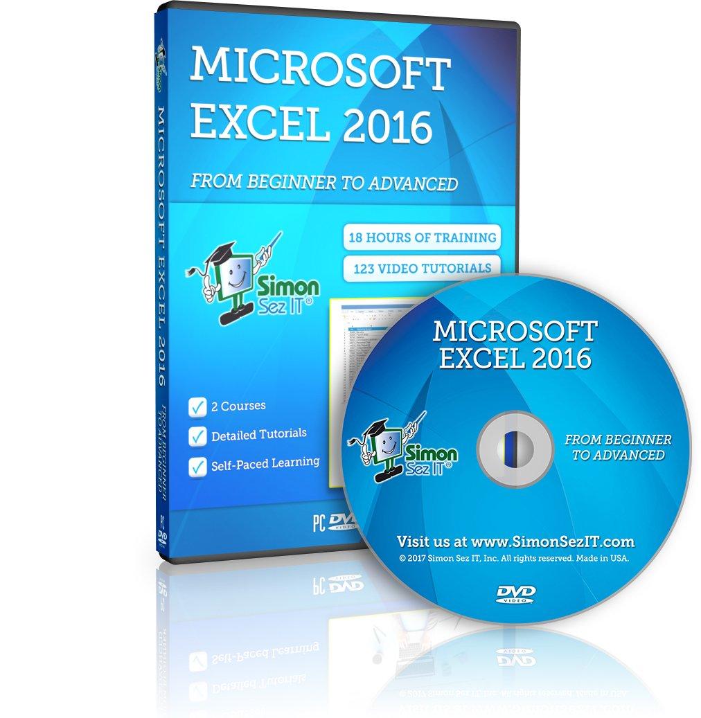 Advanced excel 2017 training dvd tutorial video
