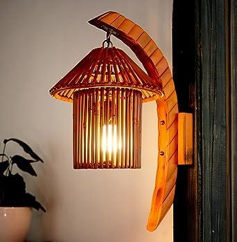 Lampe Naturelle Arts MuraleApplique Murale Bamboo Cafetière Zhdc® ZTlkXuwOiP