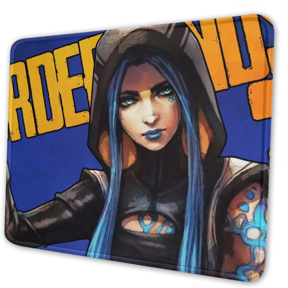 Ownspace Borderlands-3-Maya Siren Mouse Pad Graffiti Non-Slip Mouse Pad with Writh Support Acessory for Computer Laptop PC Large Keyboard Gaming Mouse Pad 7 X 8.6 in Novelty Gift