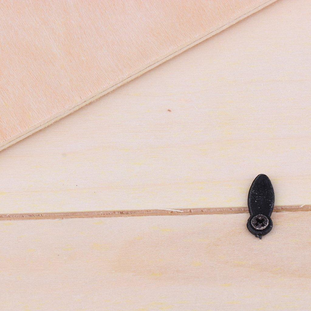 Amazon.de: FITYLE Unvollendete Holz Bilderrahmen Holzrahmen zum ...