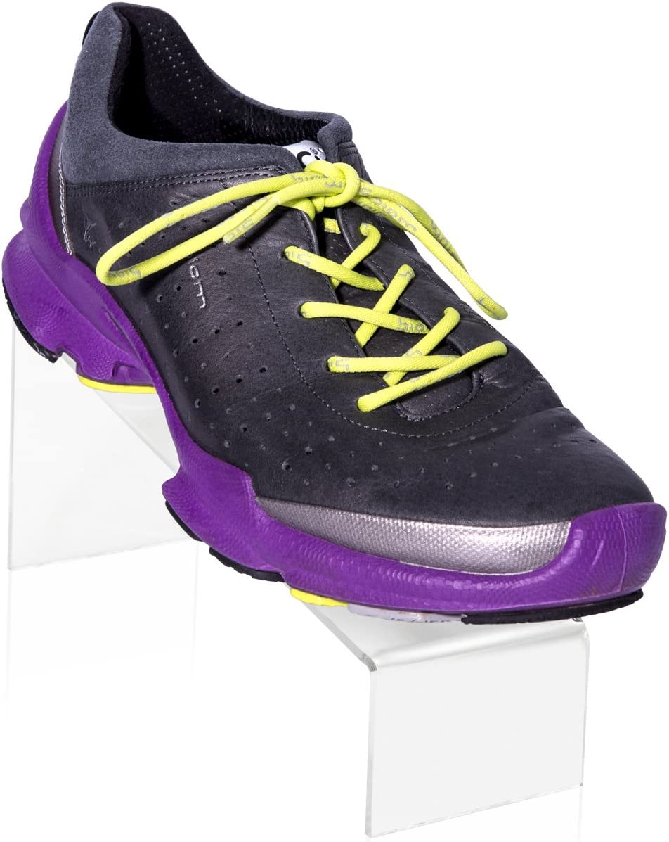 Porte chaussures en plexiglas original (22 x 7 x 9 cm