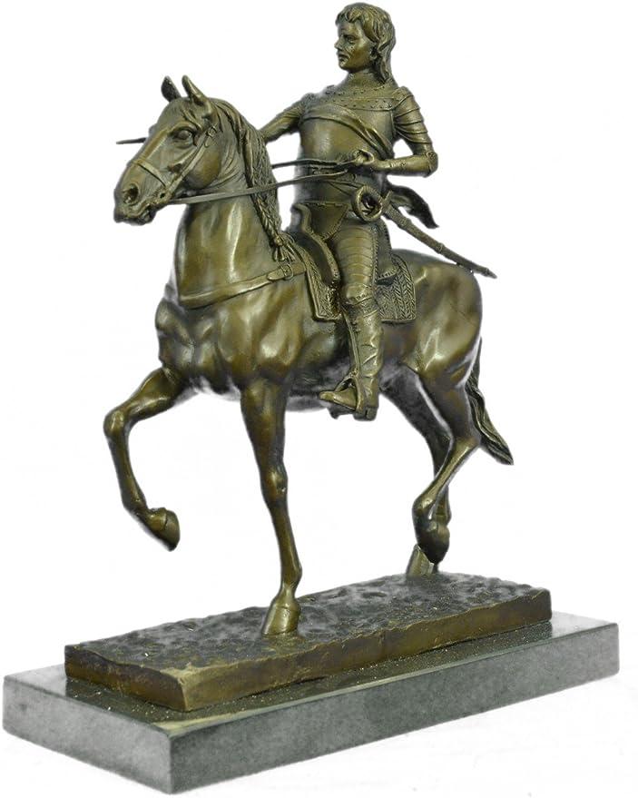 European Warrior With Sword Statue Figurine Bronze Sculpture Figure