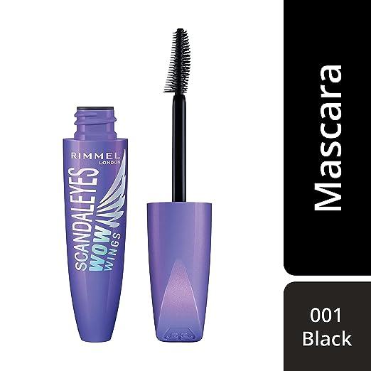Buy Rimmel London Scandal eyes Wow Wings Mascara, 001 Black, 12 ml