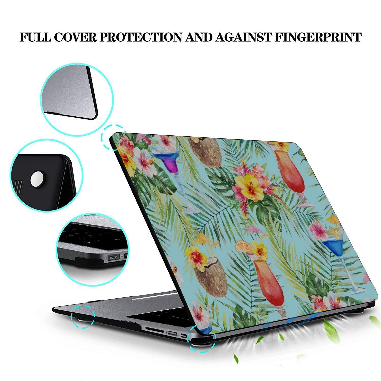 MacBook Pro Protector Summer Sweet Cool Watermelon Juice Plastic Hard Shell Compatible Mac Air 11 Pro 13 15 MacBook Pro Screen Protector Protection for MacBook 2016-2019 Version