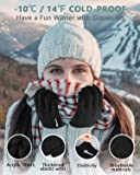Bymore Winter Gloves for Woman and Men Touch Screen