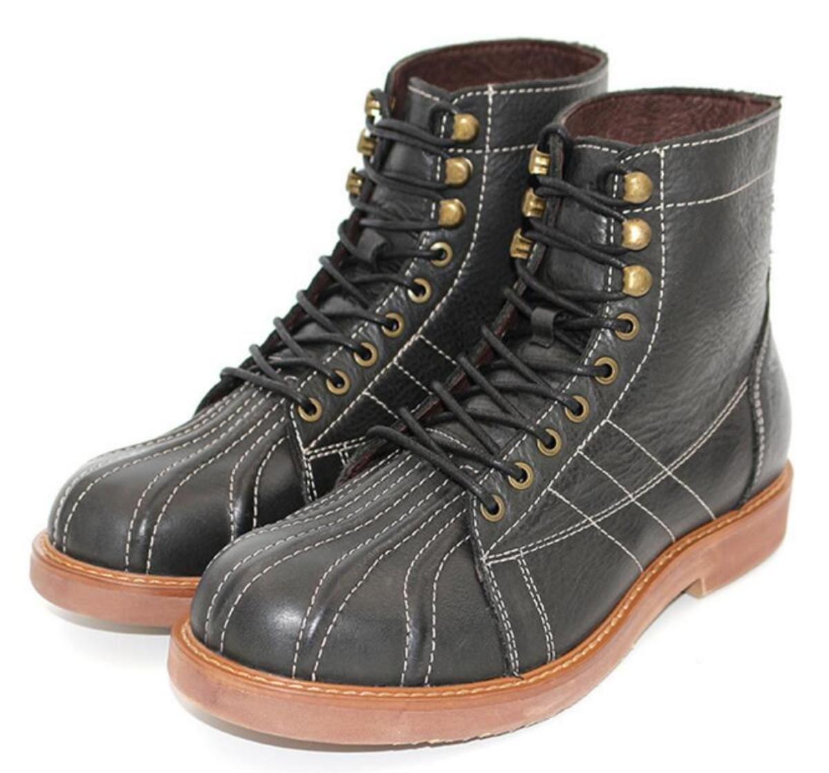Neue Männer Stiefel Casual High-Hilfe Mode Schuhe Größe 38-43, Schwarz   Braun , 39
