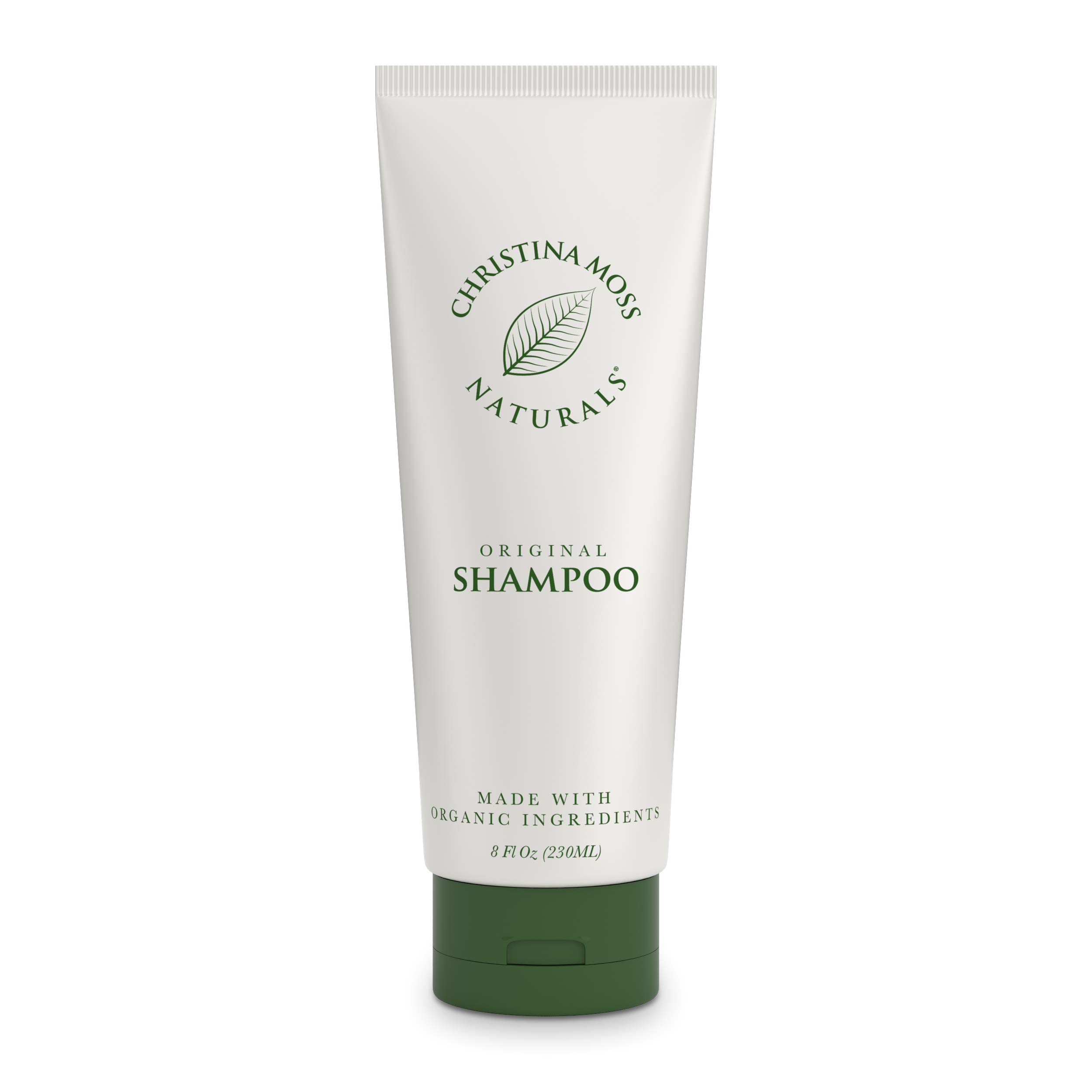 Hair Shampoo - With Organic Aloe & Essential Oils – Rich & Nourishing Ingredients for Moisturizing, Clarifying and Hydrating - Sulfate Free - Vegan – Good For Dry Hair - Dry Scalp - Oily, Curly Or Fine Hair - For Women & Men - Christina Moss Naturals