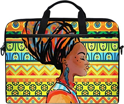 African Lady 15 Laptop Sleeve