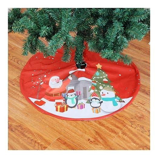 Día Lucy Falda del árbol de Navidad árbol de Navidad Decoración de ...