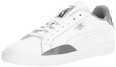 PUMA Women's Match Basic Wn's Fashion Sneaker, White-Quiet Shade, ...