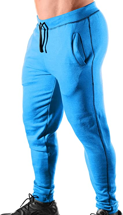 Mens Workout Monsta Clothing Co Gym Cuffed Joggers ES: HRD-LVN Classic-000