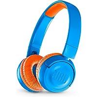 JBL Kids Wireless On-Ear Headphone Jr300Bt - Blue/Orange