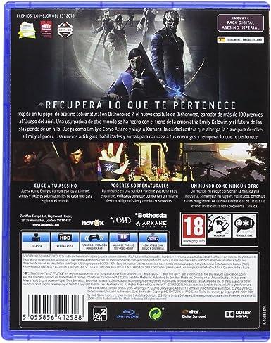 Dishonored 2 - Day One Edition: Amazon.es: Videojuegos