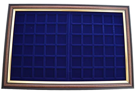 Coin Display Frame for 60 x 30 mm Coins: Amazon.es: Oficina ...