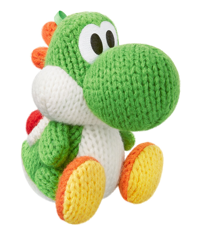 Green Yarn Yoshi amiibo - Japan Import (Yoshi's Woolly World Series)