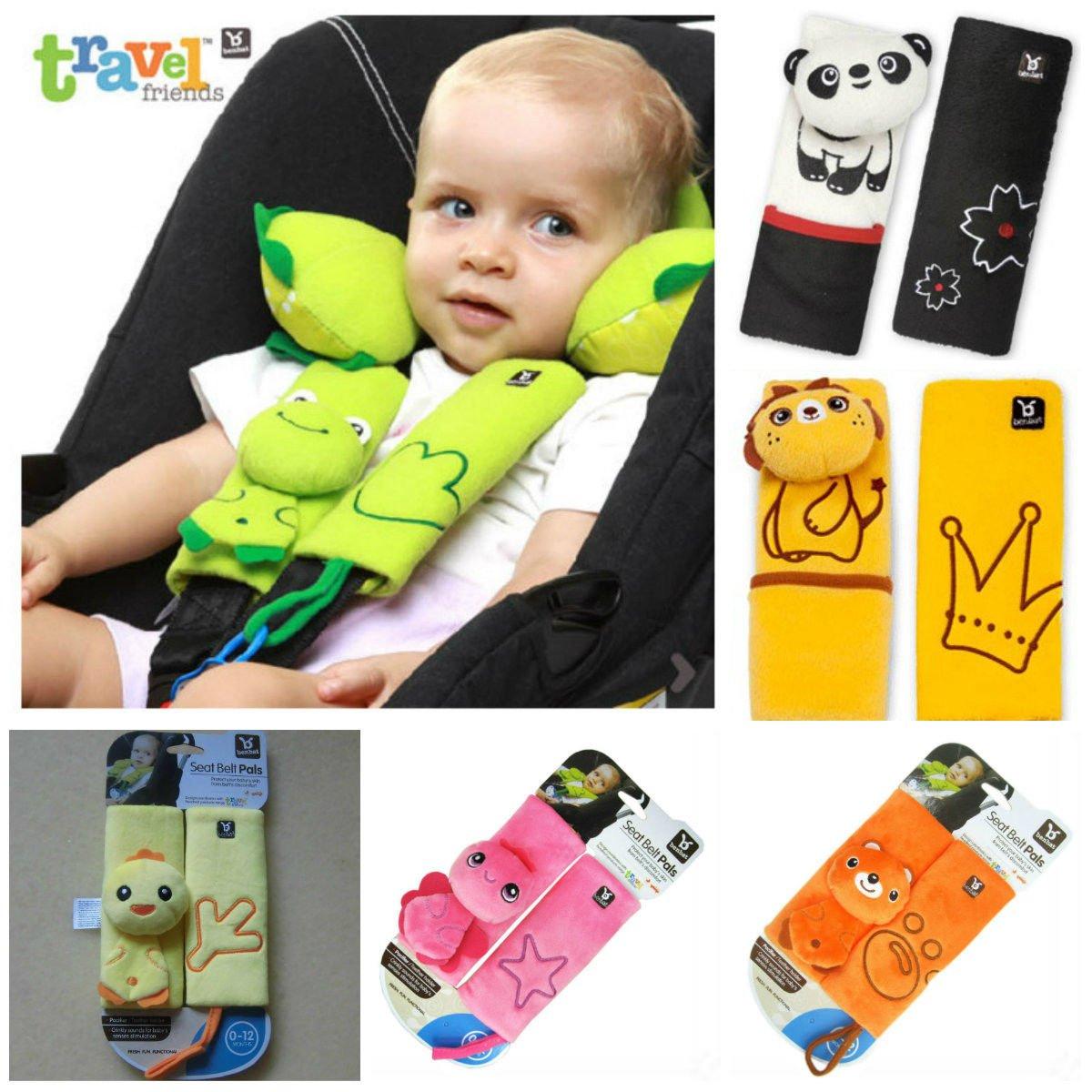 Baby Bucket WV01RCA07978 Pushchair Stroller Seat Belt Strap Yellow Amazonin Car Motorbike