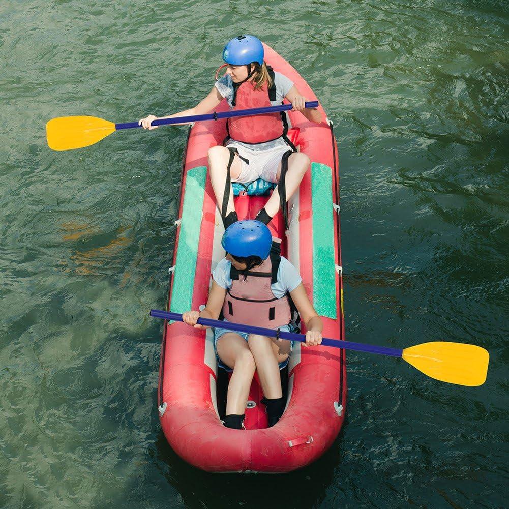 VGEBY Remos para Botes 1 par Desmontable Canoa para Kayak Remo Inflable Remo Remo Accesorio para Deportes acu/áticos