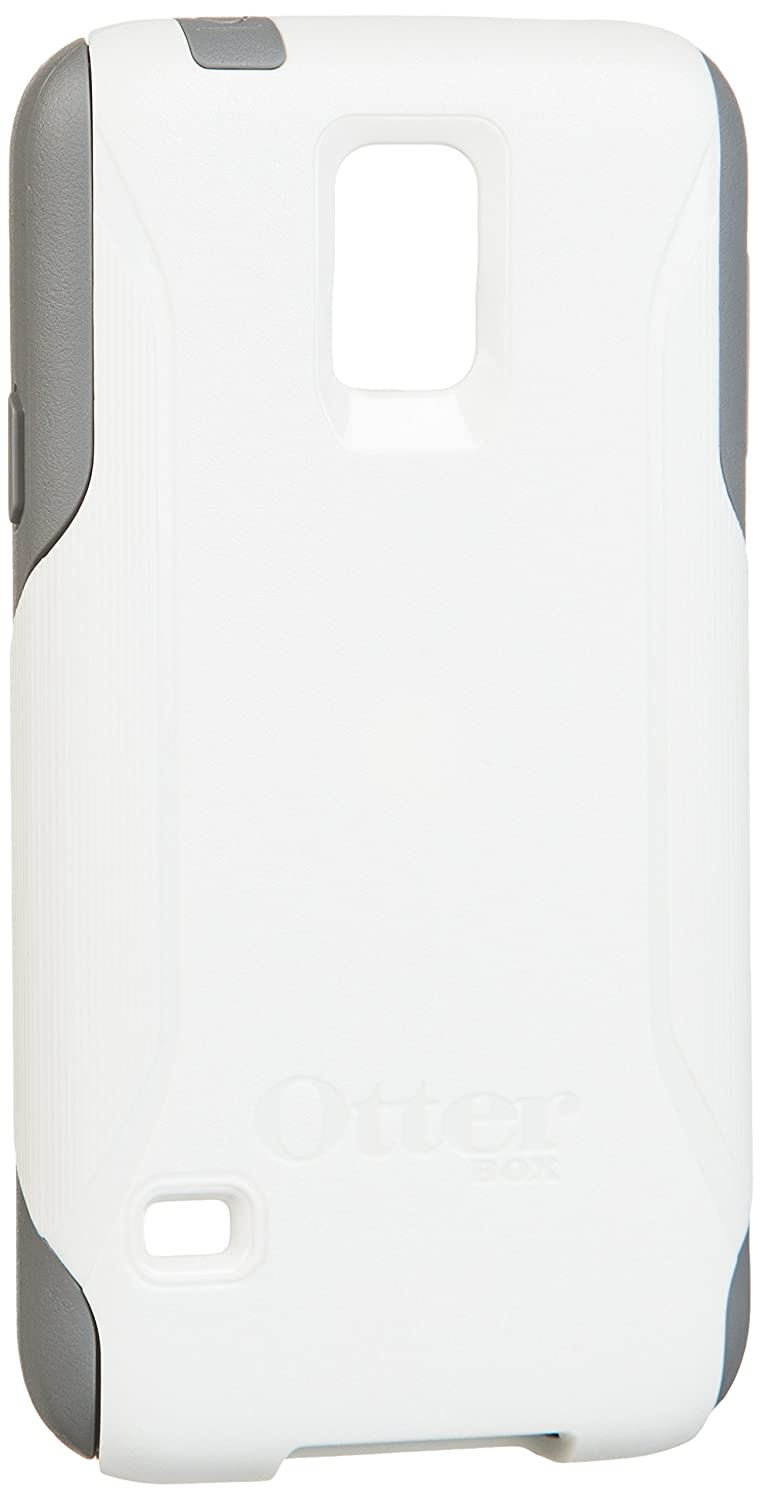 Otterbox Commuter Series Samsung Galaxy S5 Case - Retail Packaging - Glacier (White/Gunmetal Grey)