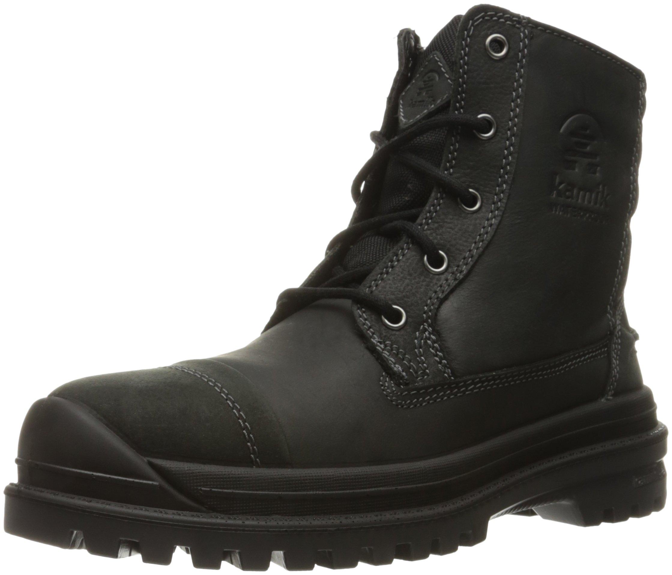 Kamik Men's Griffon Snow Boot, Black, 11 M US