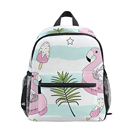 c4d7771fb3be Image Unavailable. Image not available for. Color  Unincorn Flamingo Leaves  Backpack