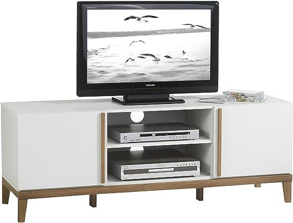 Mueble TV Rack Hi-Fi Muebles Televisión mesa mesa auxiliar salón ...