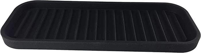Soap, Sponge and Counter Protecting Mat (Black)
