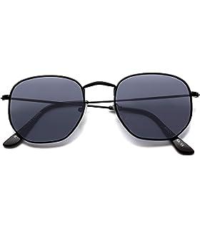 1b5cc86ccd2 Amazon.com  WearMe Pro - Reflective Lens Round Trendy Sunglasses ...