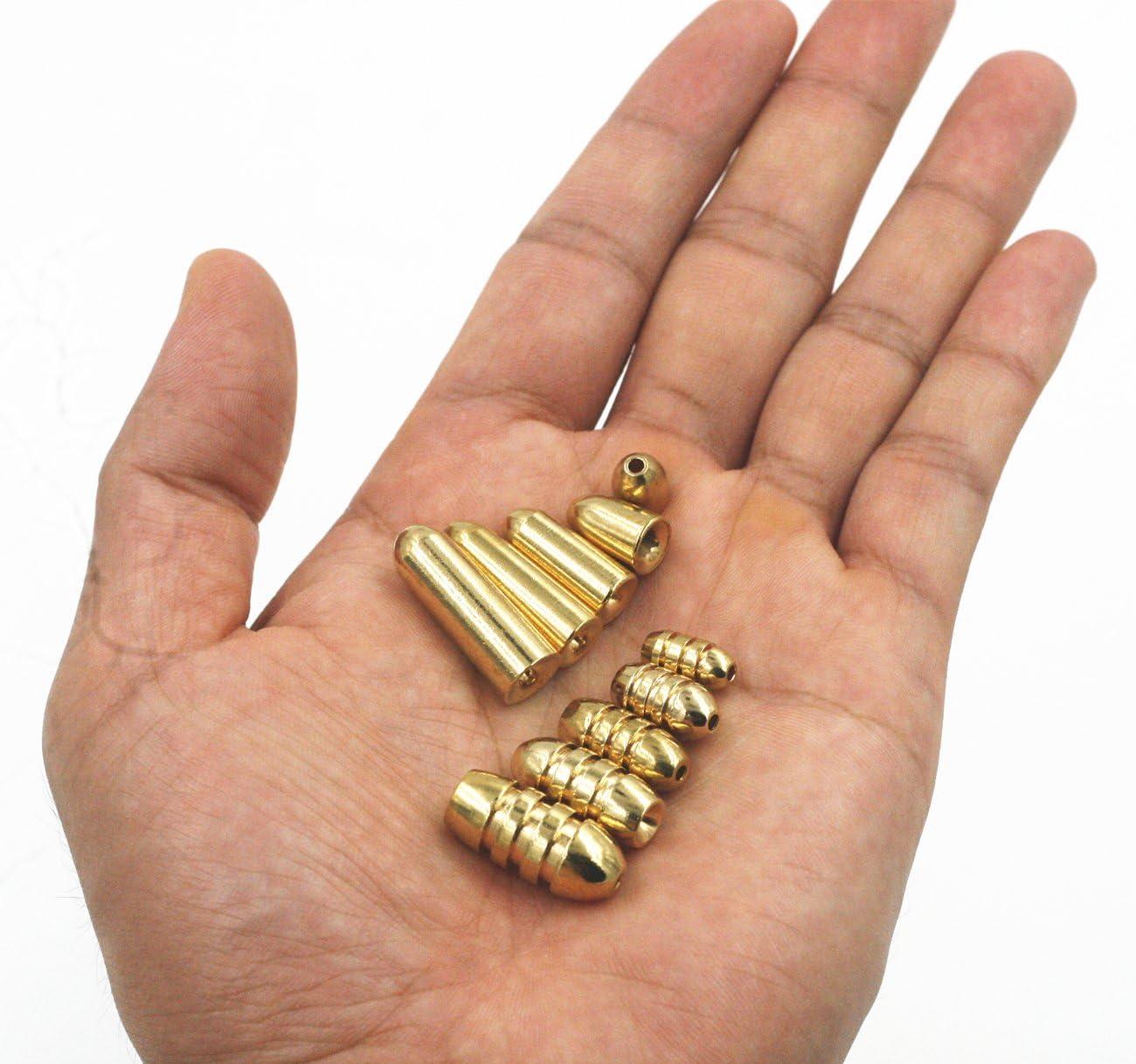 Professional Blinker spinner Body Brass Gaming Texas Carolina Rig Bullet Weight